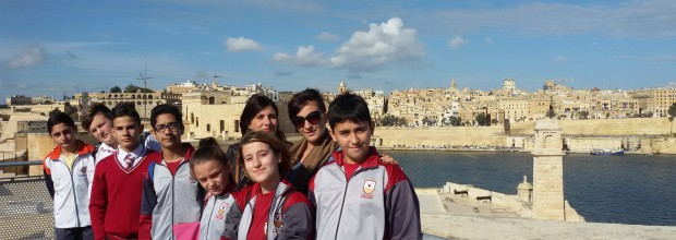 Outing at Fort St. Angelo